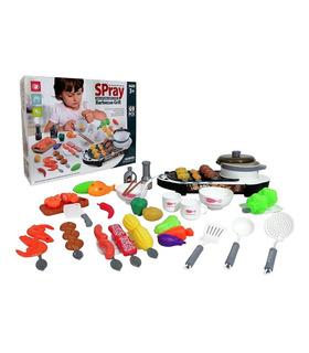 Juego De Elementos De Cocina Infantil, Juguete para niños 69pz