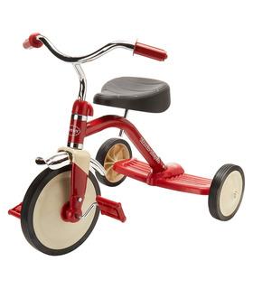 Triciclo Clásico para Niños acabado Cromado hasta 30 kg