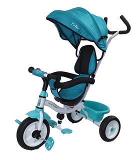 Triciclo 2 en 1 Evolutivo para Niños con Timbre y Sombrilla