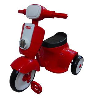 Triciclo Motoneta para Niños de Pedales con Melodias Juguete
