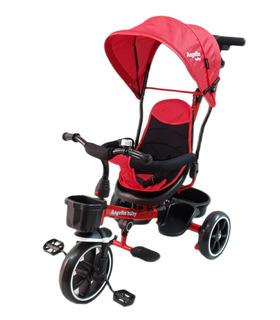 Triciclo para Niños con Asiento Giratorio 360 con Baston