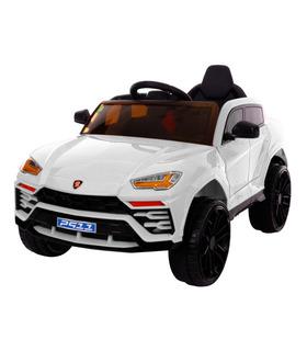 Carro Eléctrico Montable con Control Remoto, Luz led, 4 km/h,6V