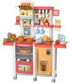 Cocina de Juguete para niños con 65 accesorios sonido y luz