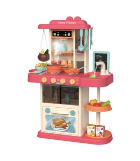 Cocina de Juguete para niños con 43 accesorios sonido y luz