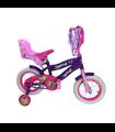 Bicicleta Infantil para Niña Rodada 12, Aire, 2-5 años o 85cm