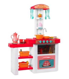 Cocina de Juguete para niños con 55 acc. agua,sonido y luz