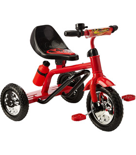 Triciclo Lets Trike Niños, con Cantimplora, Timbre 2-5 años