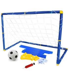 Portería Futbol Infantil Niños 1pza Balón Red Bomba