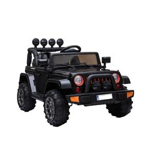 Montable Eléctrico Jeep Sahara OffRoad 2.4GHz 5KM/H Luz MP3