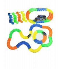 Pista de Carros Lanzador Juguete Infantil Flexible 180 pzs