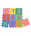 Tapete Numeros 0 a 9 en Foami para Bebes Aprendizaje