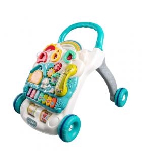 Caminador Andador para Bebés de Tablero Juegos Musical Luz Telefono