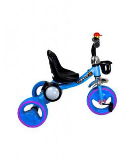 Triciclo Infantil para Niño con PortaVaso Melodias Luz Timbre