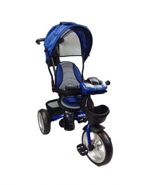 Triciclo para niño y niña con asiento giratorio a 360 Luz y Sonido