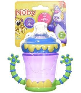 Nuby Taza Entrenador Antiderrames Monster