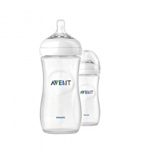Philips Avent Pack Natural 11 oz 330 ml 2 pz